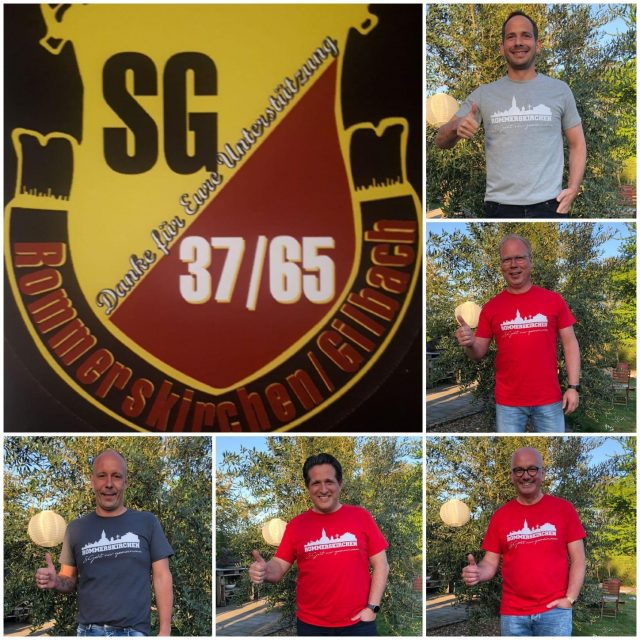 Der Vorstand der SG Rommerskirchen / Gilbach sagt DANKE !!!!
