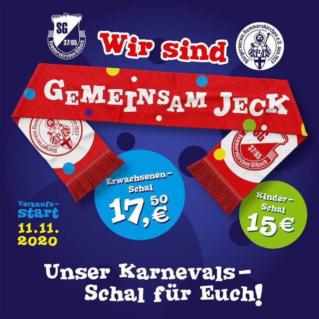 """Zwei Rommerskirchener Vereine """"GEMEINSAM JECK"""""""
